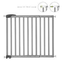 Badabulle Portão de segurança extensível Deco Pop 63-106 cm cinzento