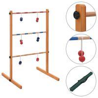 vidaXL Jogo Spin Ladder golfe em madeira