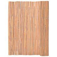 vidaXL Cerca em bambu 125x400 cm
