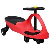 vidaXL Triciclo sem pedais com buzina vermelho