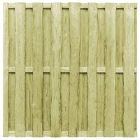 vidaXL Painel de vedação 180x180 cm madeira de pinho verde