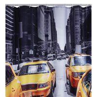 RIDDER Cortina de duche New York 180x200 cm