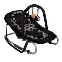 Banini Baloiço de bebé Relax Classic círculos pretos BNBO002-BKCL