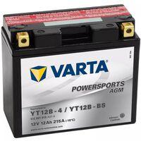Varta Bateria para mota Powersports AGM YT12B-4/YT12B-BS