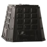 Nature Caixa de compostagem 400 L preto 6071480