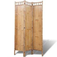 Divisória de ambientes, 3 painéis bambu