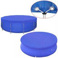 vidaXL Cobertura PE redonda para piscina 540 cm 90 g/m²