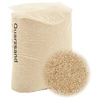 vidaXL Areia filtrante 25 kg 0,4-0,8 mm