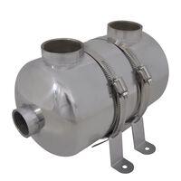 Permutador de calor, piscina, 292 x 134 mm 28 kW