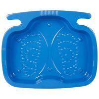 Intex Lava-pés para piscina 11,5 L 56x46x9 cm azul