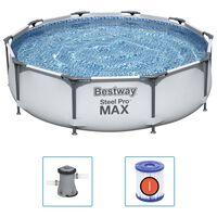 Bestway Conjunto de piscina Steel Pro MAX 305x76 cm