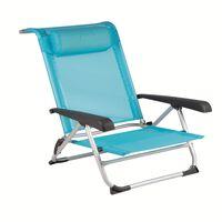 Bo-Camp Cadeira de praia azul 1204784