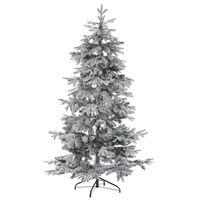 Árvore De Natal Com Efeito De Neve Branca 210 Cm Tomichi