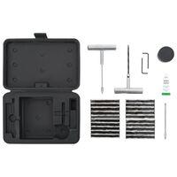 vidaXL 27 pcs Kit para reparação de pneus de automóveis
