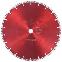 vidaXL Disco de corte de diamante com aço turbo 300 mm