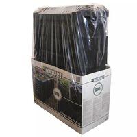 Nature Caixa de lixo para composto, preto 1200 L, 6071483