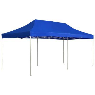 vidaXL Tenda dobrável profissional para festas alumínio 6x3m azul
