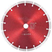 vidaXL Disco de corte de diamante aço 230 mm