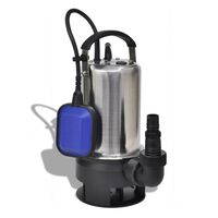 vidaXL Bomba submersível de águas sujas 750 W 12500 L/h