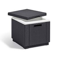 Allibert Refrigerador/caixa térmica grafite Ice Cube 213828