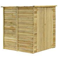 vidaXL Casa/abrigo jardim 157x159x178 cm madeira de pinho impregnada