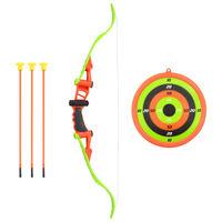 vidaXL 5 pcs conjunto tiro com arco para crianças 68 cm