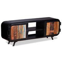 vidaXL Móvel de TV madeira recuperada 120x30x45 cm