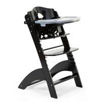 CHILDHOME Cadeira alta de bebé 2-em-1 Lambda 3 preto