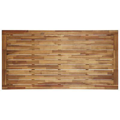 vidaXL Mesa de jardim 170x90x75 cm madeira de acácia maciça