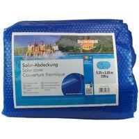 Summer Fun Cobertura solar de piscina oval 525x320 cm PE azul