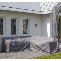 Madison Cobertura para lounge de exterior 235x235x70 cm cinzento