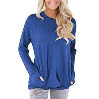 Camisa de manga comprida com bolsos Azul (XXL)