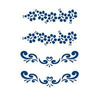 Tatuagem De Música 2 X 2 Motivo Azul