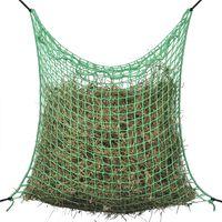 vidaXL Rede para feno quadrada 0,9x2 m PP