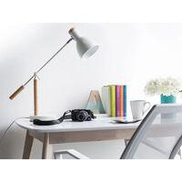 Candeeiro de mesa branco - Escritório - PECKOS