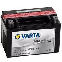 Varta Bateria para mota Powersports AGM YTX9-4 / YTX9-BS