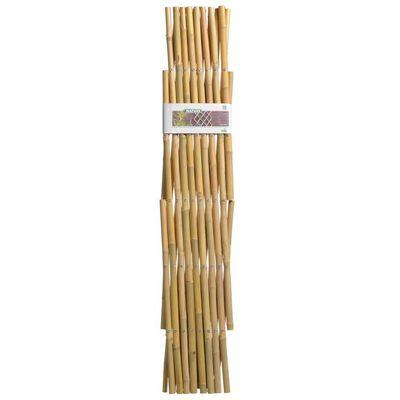 Nature Treliça de jardim 100x200 cm bambu 6040722