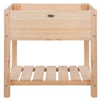 Esschert Design Canteiro elevado madeira clara S