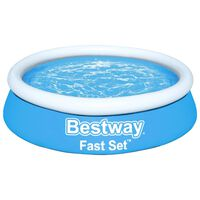 Bestway Fast Set Piscina insuflável redonda 183x51 cm azul