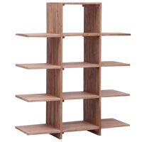 vidaXL Estante 100x30x120 cm madeira de teca maciça