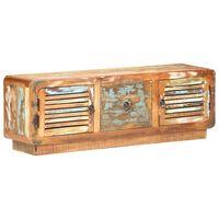 vidaXL Móvel de TV 120x30x40 cm madeira recuperada maciça