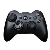 Controle de jogo sem fio universal preto