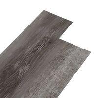 vidaXL Tábuas de soalho PVC autoadesivo 4,46m² 3mm madeira às riscas