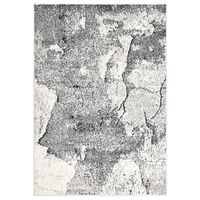 vidaXL Tapete 140x200 cm PP cinzento
