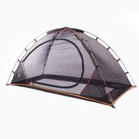 DERYAN Tenda para cama à prova de mosquitos 200x90x110 cm preto