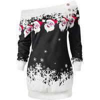 Suéter de Natal com ombro largo - tamanho S