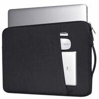 Capa para laptop de 14,1 polegadas - preta