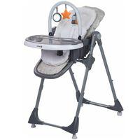 Safety 1st Cadeira alta dobrável Kiwi 3-in-1 cinzento quente 2775191000