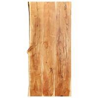 vidaXL Tampo p/ móvel toucador WC 120x55x3,8 cm madeira acácia maciça