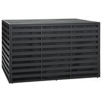 vidaXL Caixa de arrumação para jardim 150x100x100cm alumínio antracite